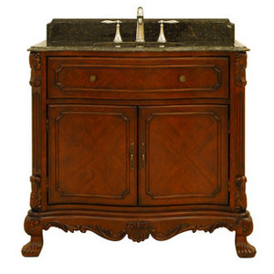 Sagehill Designs Bathroom Vanity Cabinet from the Barrister Collection