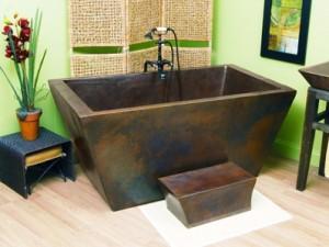 Sierra Copper Tubs - Lexington