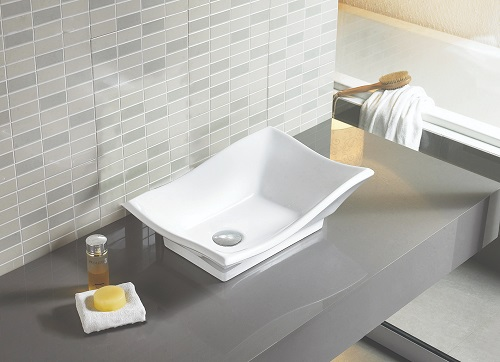 """20"""" Above Counter Vessel Sink AI-14020 from American Imaginations"""