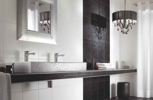 For A More Modern Bath, Small Hotel Style Pendants Can Make Great Vanity Lights