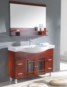 Legion Asian Influenced Modern Bathroom Vanity