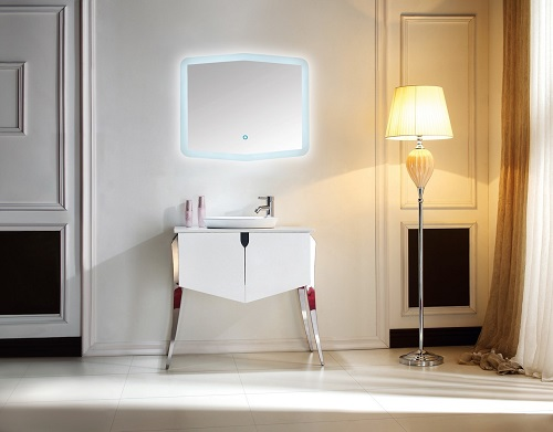 "Riso 35.5"" Modern Bathroom Vanity KR832 from Kube Bath"