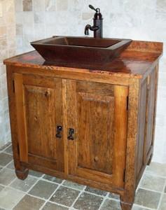 Sierra Copper Burlington Bathroom Vanity