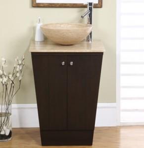 Silkroad Exclusives Modern Pedestal Vanity HYP-0155-22