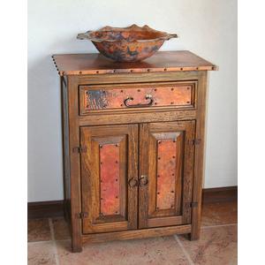 Sierra Copper SCANA Copper Bathroom Vanity