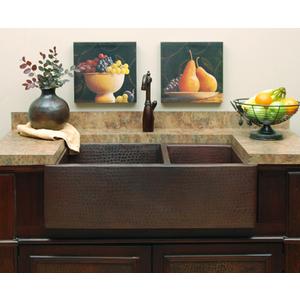 sierra copper SCHD6435 Farmhouse Kitchen Sink