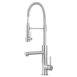 Artisan Satin Nickel Kitchen Faucet Af-660-Sn