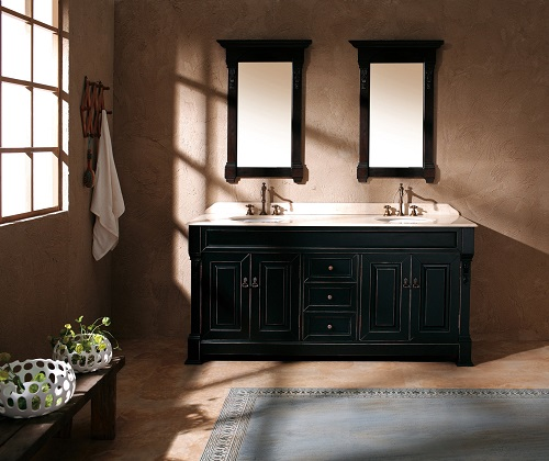 Black Vanities For An Easy Modern Twist On Any Bathroom Decor