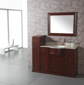 Cherry Wood Contemporary Vanity WA3003