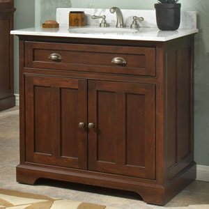 Sagehill Designs Somerset 36 Inch Solid Wood Bathroom Vanity