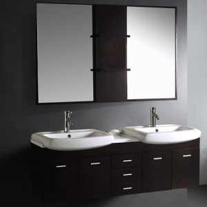 59 Inch Double Bathroom Vanity From Vigo Industries