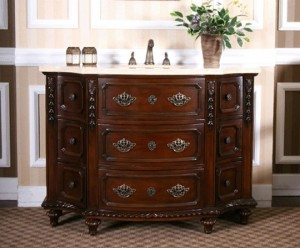Antique Cherry Wood Bathroom Vanity From Legion Furniture