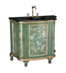 Aquarelle Bathroom Vanity With Sink From Sterling Lighting