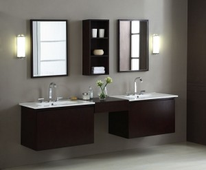 Blox 30 Inch Wood Vanities With Connector