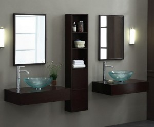 Blox Console Vanity With Storage Unit