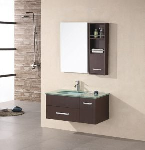 Christine Wall Mount Single Sink Vanity From Design Element