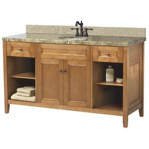 Spa Style Bathroom Vanities To Complete Your Home Spa Makeover on dual sink vanity, 16 inch sink vanity, ramp sink vanity,