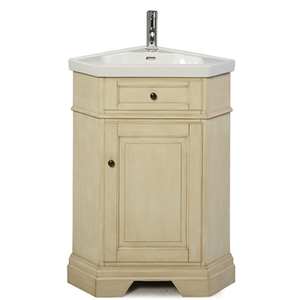 Richmond Corner Vanity in Parchment from Pegasus