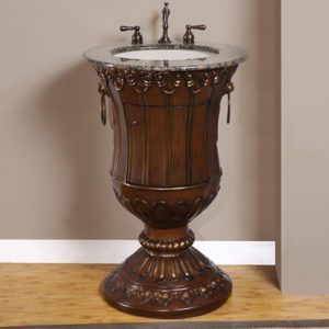 Silkroad Exclusives HYP 0141-23 Pedestal Vanity