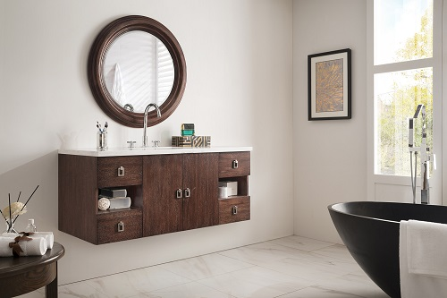"Sonoma 48"" Single Bathroom Vanity in Coffee Oak 860-V48-CFO from James Martin Furniture"