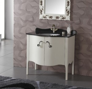 White Modern Bathroom Vanity From Legion Furniture