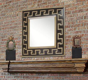 Greek Key Accent Mirror From Sterling Lighting