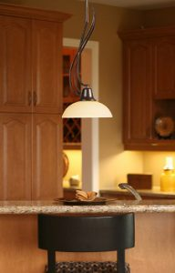 Franklin Creek 1-Light Pendant in Dark Umber