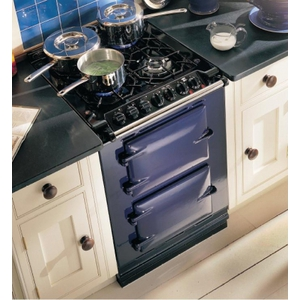 AGA Dual Fuel Range With 4 Burners And 2 Electric Ovens