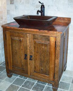 Burlington Vanity From Sierra Copper