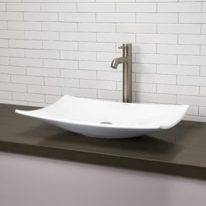 Clasically Redefined Rectangular Vitreous China Vessel Sink From Decolav