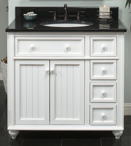 Cottage Retreate White Bathroom Vanity From Sagehill Designs