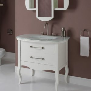 Gabrielle White Bathroom Vanity From Decolav