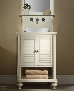 Islander 24 Inch White Vanity From Xylem