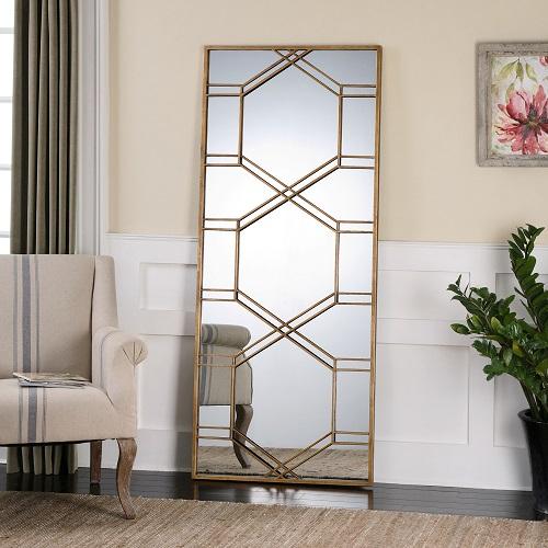 Kennis Gold Leaf Leaner Mirror 13922 from Uttermost
