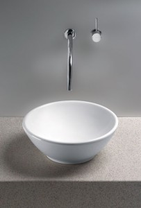 Larissa Vitreous China Vessel Sink From Toto