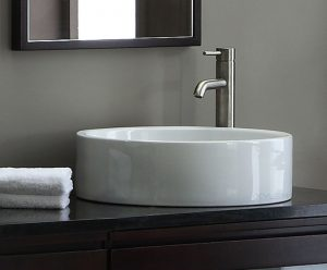 Round Vitreous China Vessel Sink From Avanity