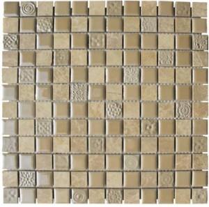 Sienna Blen Ceramic Mosaic Tile