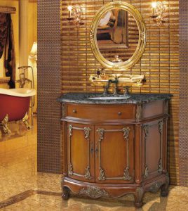 40 Inch Juno Single Sink Antique Bathroom Vanity From Stufurhome