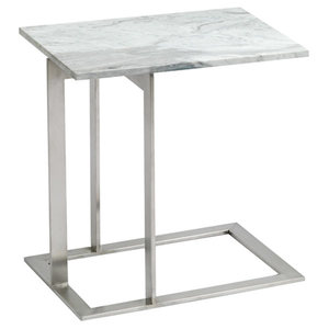 Dell Marble Side Table From Nuevo