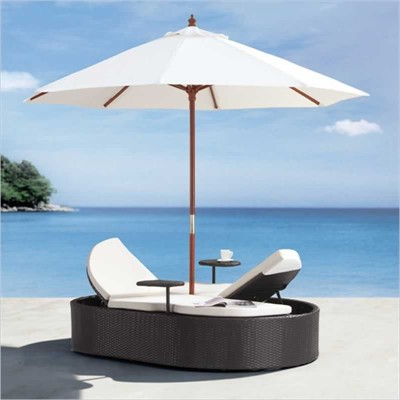 Hampton Outdoor Bed From Zuo