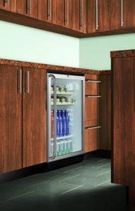 Summit SCR600BLBISHWO Undermount Beverage Cooler