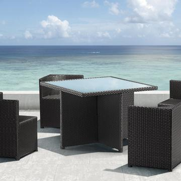 Turtle Beach Table Set From Zuo