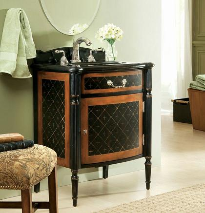 Barcelona Antique Bathroom Vanity From Cole And Co
