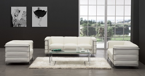 Fortress Living Room Set From Zuo