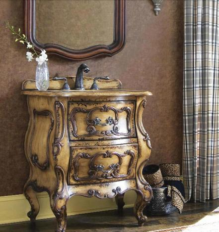 Gatsby Antique Bathroom Vanity From Cole and Co