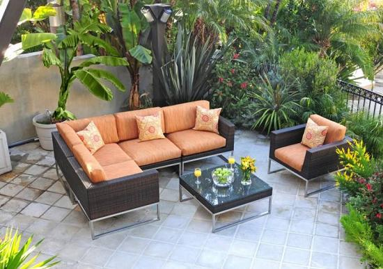 Mirabella 6 Piece Sectional Set From Caluco