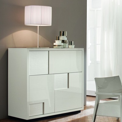 Nightfly White Bar Buffet From Rossetto