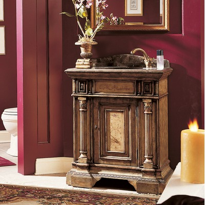 Regal Row Antique Bathroom Vanity From Cole and Co