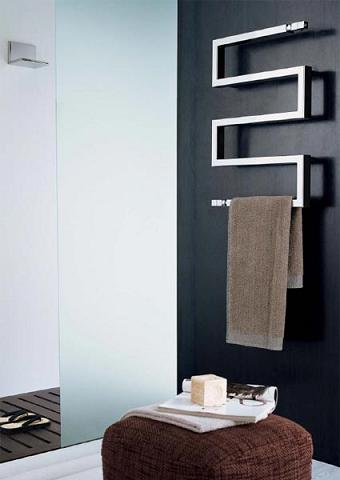 Snake 50 Hydronic Towel Warmer From Scirocco
