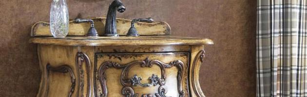 compact antique bathroom vanities